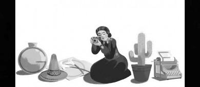 Homenajean Google y Twitter a Tina Modotti, en su cumpleaños 121