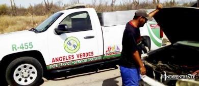 Ángeles Verdes han auxiliado a más de mil 500 viajeros