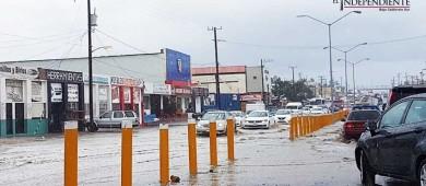 Otra vez, caos e inundaciones en Los Cabos por lluvia de fin de semana