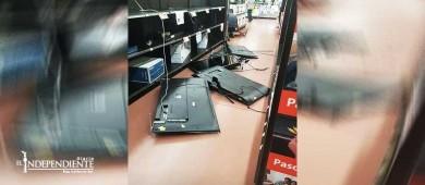Captura mando mixto a presunto responsable de daños en supermercado