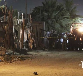 Detonaciones de arma de fuego alarman a vecinos del Predio La Ballena