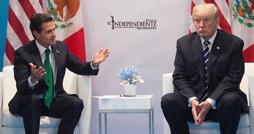 Peña Nieto no llamó a Donald Trump: SRE