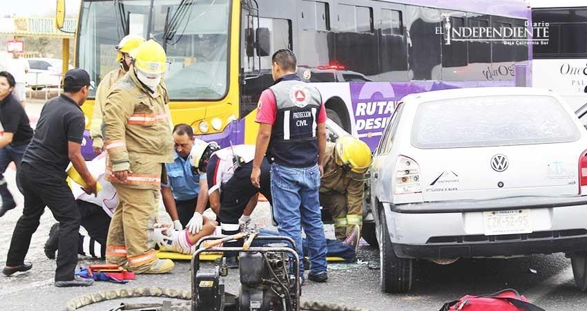 Preocupa alto índice de accidentes en el corredor turístico
