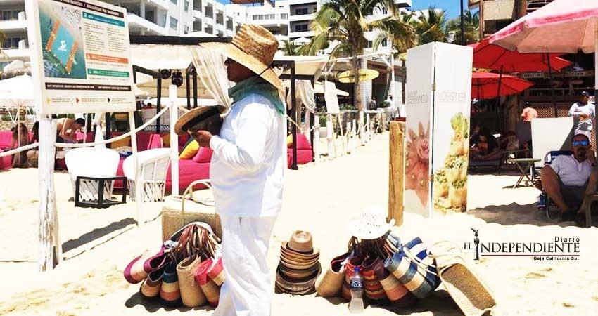 Vendedores de las playas utilizan niños para ejercer el ambulantaje