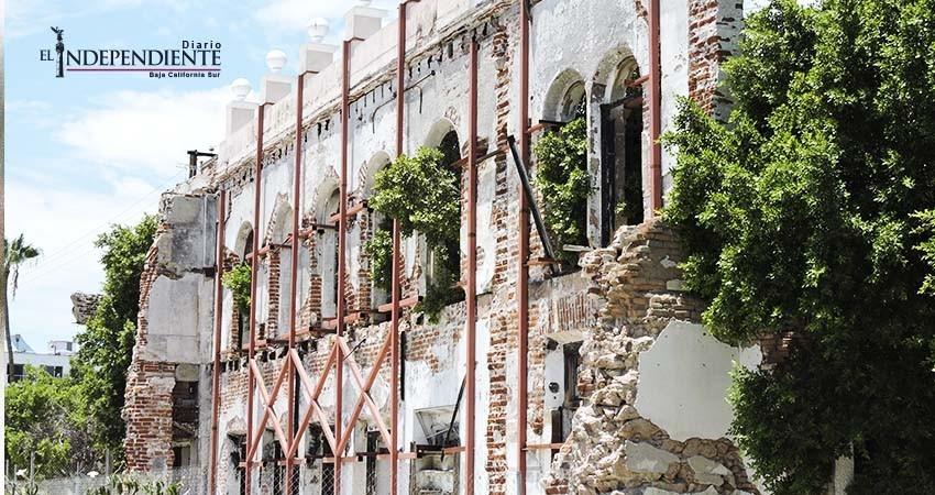 Trabaja INAH  en la preservación de monumentos históricos de BCS