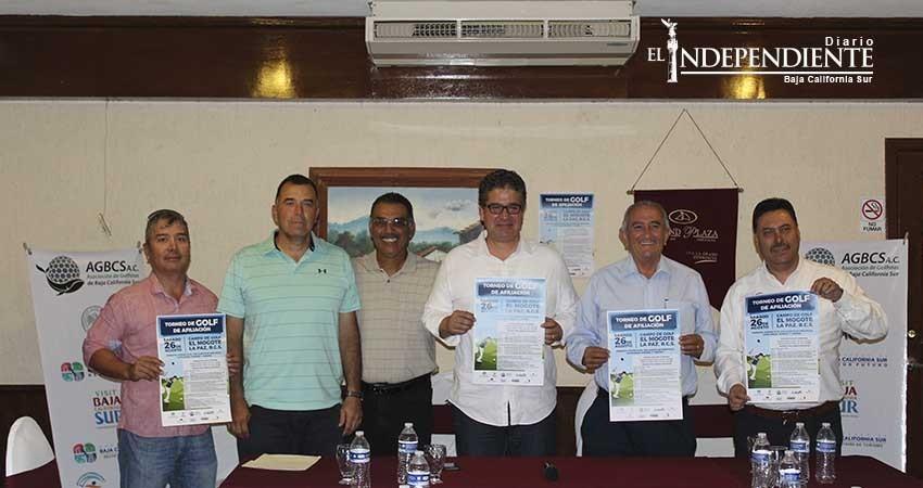 Presentan el 1er Torneo de Golf en La Paz