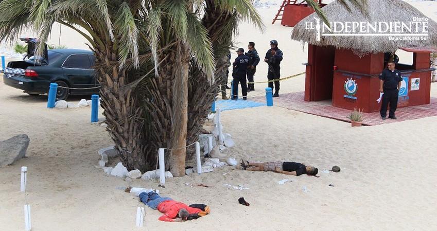 Balacera en Playa Palmilla