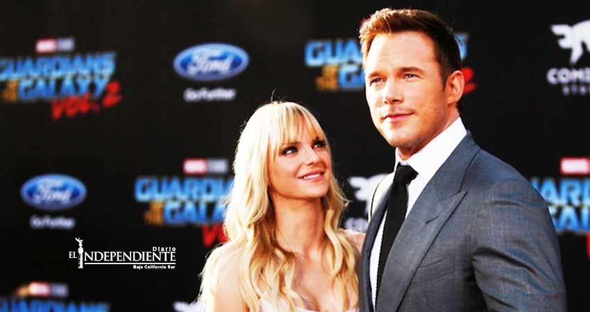 A Chris Pratt y Anna Faris se les murió el amor
