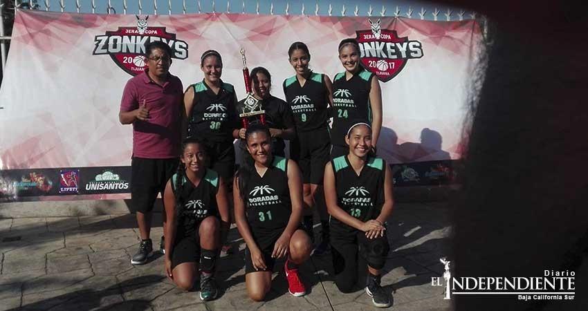 Doradas de La Paz se coronan en la Copa Zonkeys 2017