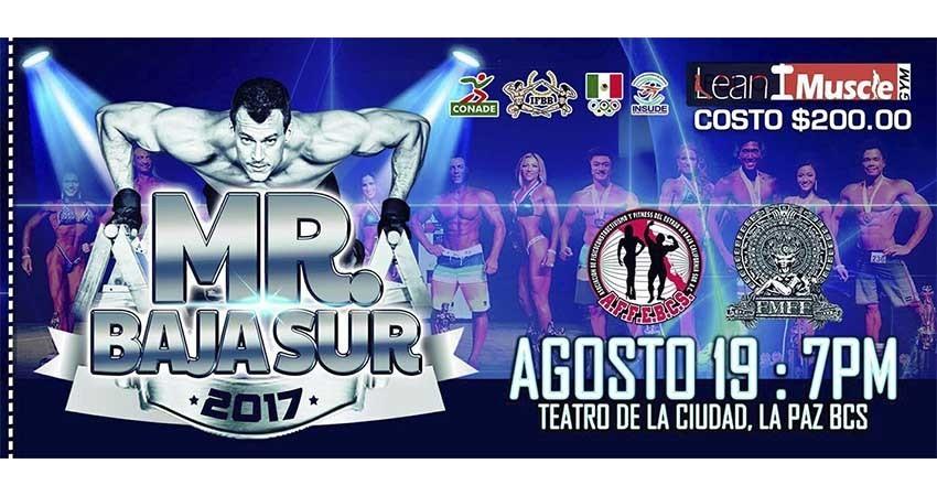 Estamos listos para el Mr. BCS2017: Fausto Pérez