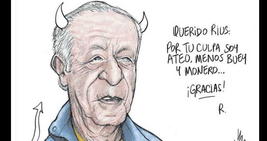 El adiós de los moneros mexicanos a Rius, 'el maestro'