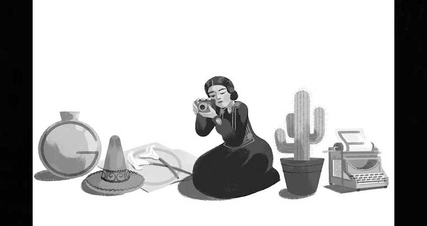 Google recuerda el cumpleaños 121 de Tina Modotti