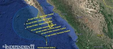 "Se debilitó ""Norma""; reanudan clases para mañana en Baja California Sur (BCS)"