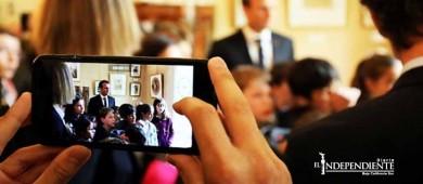 Difunden número de celular de presidente francés