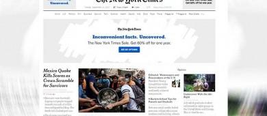 Acapara sismo titulares de la prensa internacional