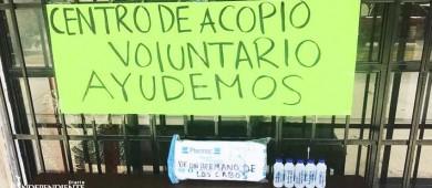 Jóvenes josefinos instalan centro de acopio en el Zacatal