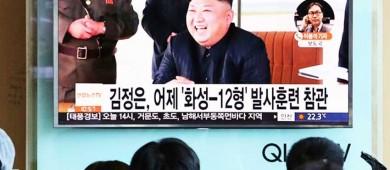 Domesticaré con fuego al viejo senil y desquiciado: Kim Jong un