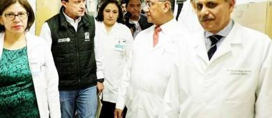 Evalúa el director del IMSS los daños en La Raza, tras el sismo