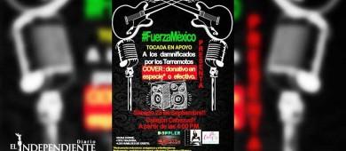 Hoy, tocada por acopio para damnificados en México en callejón de La Paz