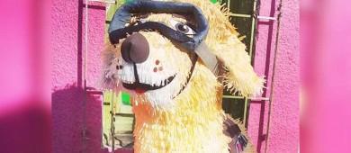 La perrita más famosa de México 'Frida' ya tiene su piñata