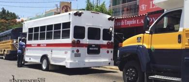 Trabajan regidores en decisión final sobre tarifa al transporte de La Paz