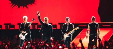 Trasciende que U2 podría grabar sus conciertos en México