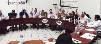 Aprueba IEE reglamento para incluir a partidos en trabajos de comisiones