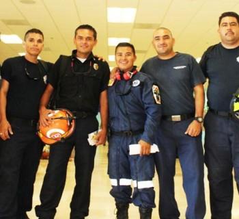 Bomberos cabeños viajan a CDMX para apoyar en los rescates