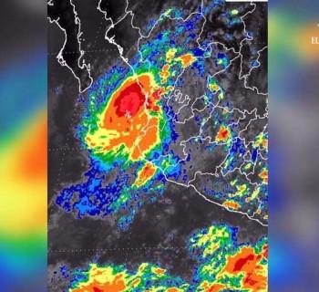 """Se formó la Tormenta  Tropical """"Pilar"""" en las costas del Pacífico"""