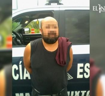 Detienen a hombre por masturbarse frente a menor en autobús de pasajeros