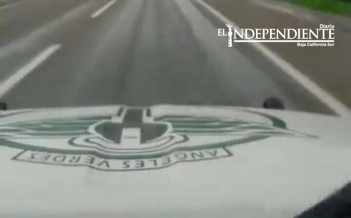 Ángeles Verdes ha dado asistencia a turistas en carreteras al sur