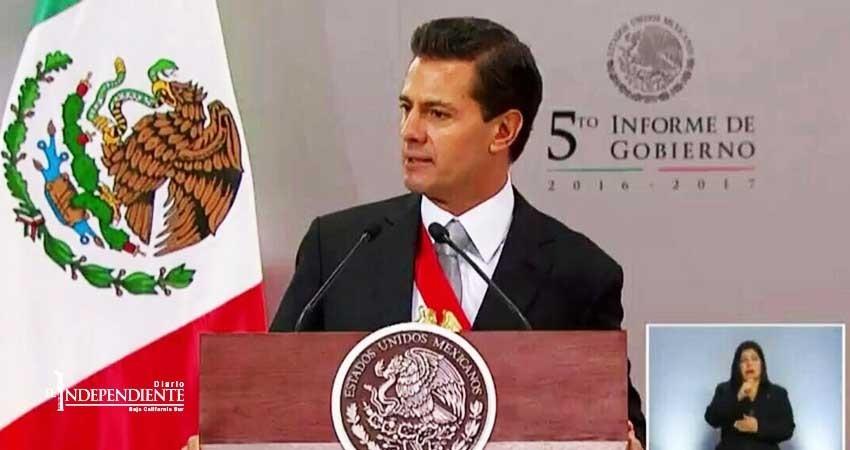 """El Presidente EPN se solidariza con los afectados de  """"Lidia"""""""