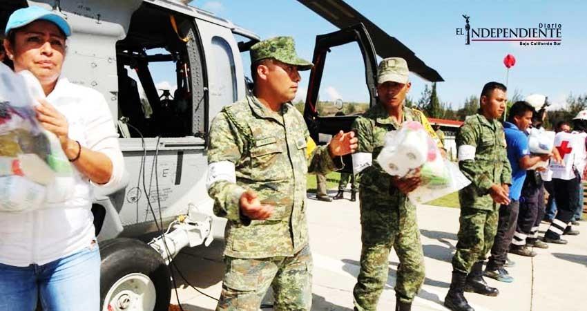 La 3/a. Zona Militar proporciona apoyo a la Cruz Roja Mexicana de Cabo San Lucas (CSL)