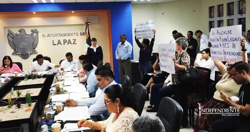 Exige Frente Ciudadano reanudar elaboración del programa de ordenamiento ecológico de La Paz