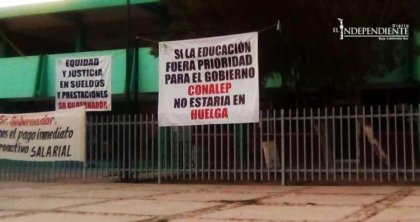 Interrumpido el diálogo entre Conalep y sindicato en huelga; Conalep realizará nueva propuesta
