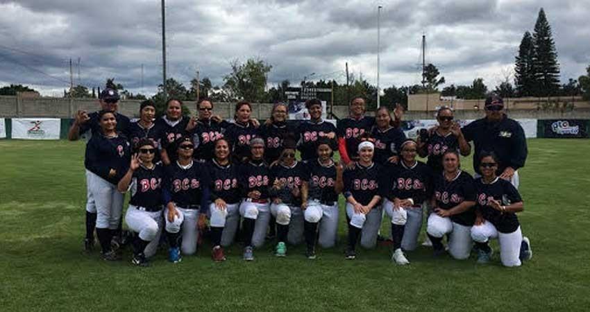 Tercer lugar para Baja California Sur (BCS) en el nacional de softbol