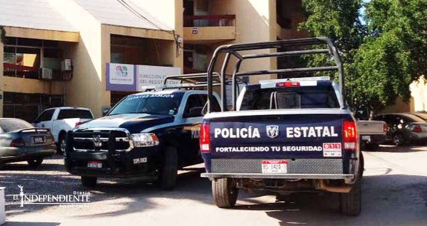 Roban instalaciones del Registro Civil Estatal
