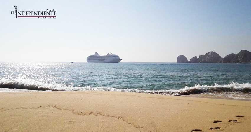 """Llegó a Cabo San Lucas (CSL) el primer crucero después de """"Lidia"""""""