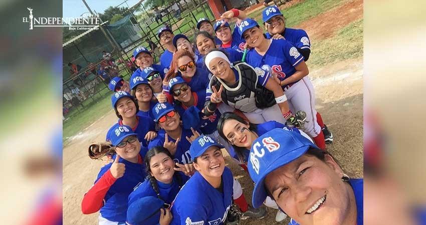 Avanza a la siguiente ronda el Selectivo Sudcaliforniano en Nacional de Béisbol Femenil