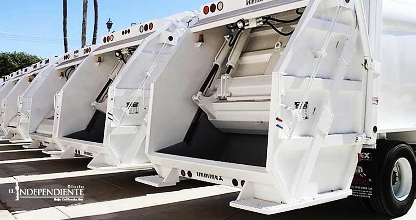 No operaron 10 camiones de basura nuevos por falta de pólizas de garantía