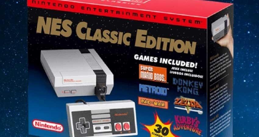 Confirman relanzamiento del NES Classic Mini