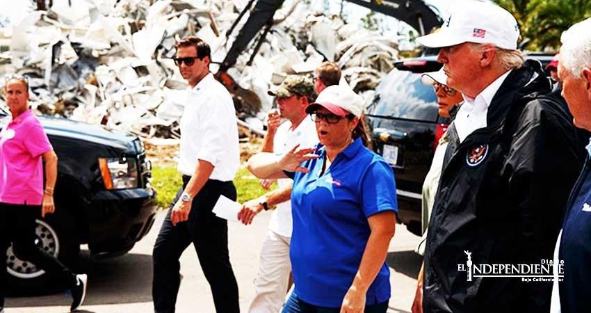 Tras visita a Florida, Trump se compromete a ayudar