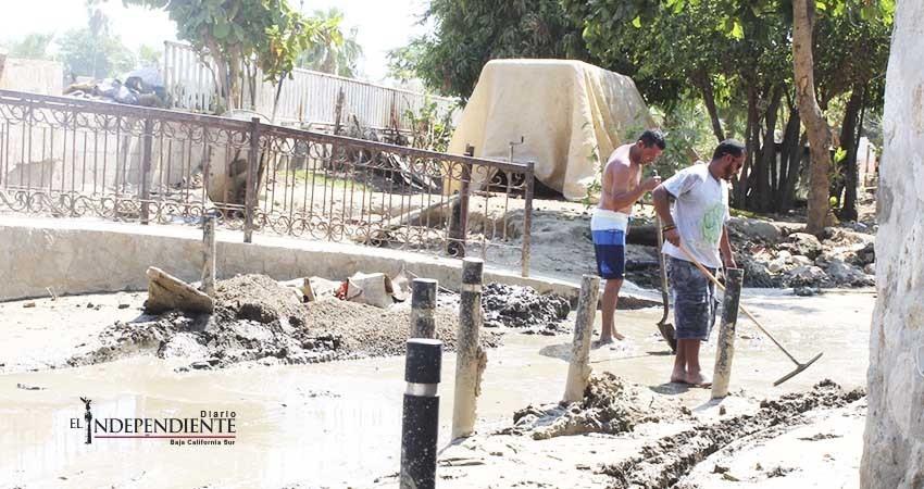 Empresarios y habitantes del centro josefino piden ayuda para solucionar inundaciones