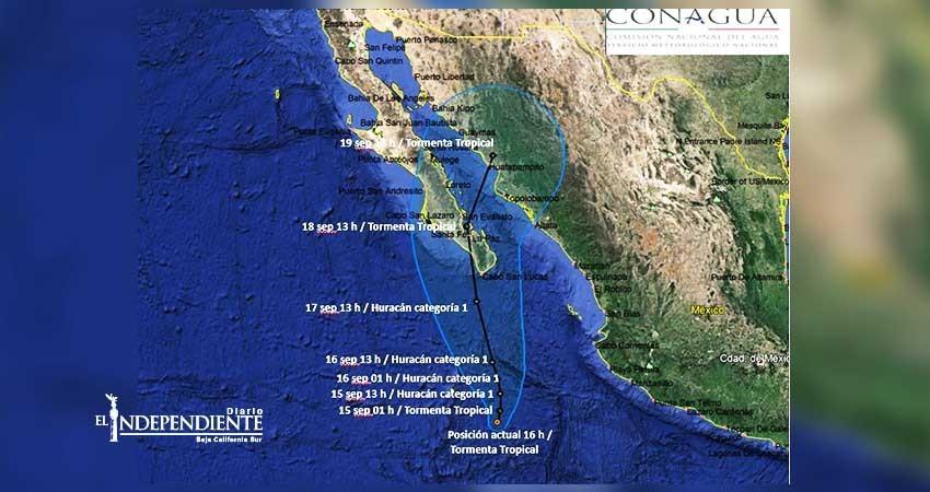"""Amenaza """"Norma"""" a Baja California Sur (BCS)"""