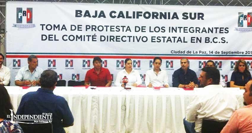 Toman protesta nuevas autoridades del PRI a nivel estatal
