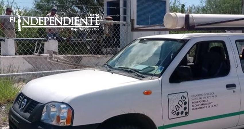 En 3 días resolverá SAPA abasto de agua en El Centenario, Chametla y Comitán