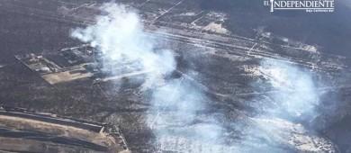 Continúan investigando nube negra de contaminación en La Paz