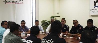 Coordinarán esfuerzos sociedad civil organizada y Seguridad Pública Municipal