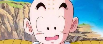 ¿Por qué Krilin, de Dragon Ball, tiene puntos en la frente?