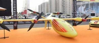 Dubái prueba un sistema de drones antiincendios